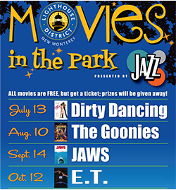 Movies in the Park Ad