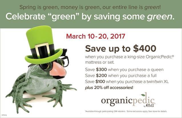 OrganicPedic Mattress Sale at Mattress Nation