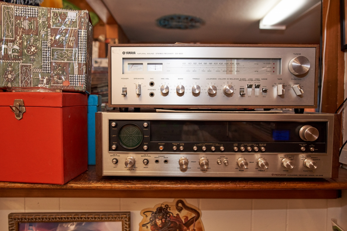 Stereo Equipment for Sale at Recycled Records | Lighthouse
